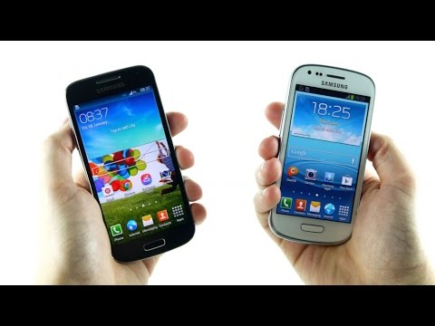 Comparación samsung s3 mini vs samsung s4 mini