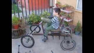 Como fabricar un coche a pedales