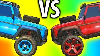 GTA 5 Tips & Tricks: OFF ROAD Vs STREET TIRES Whats