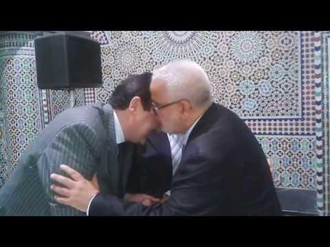 أعضاء الحكومة  في عرس مغربي