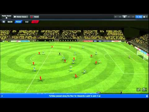 Super meci Petrolul-Steaua(football manager)Highlight