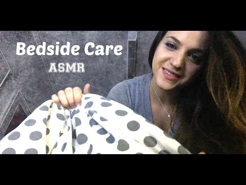 ❀ Bedside Care ASMR ❀ with Ear Drops