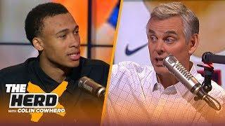 RJ Hampton explains his choice to skip college, who inspired him & his preparation   NBA   THE HERD