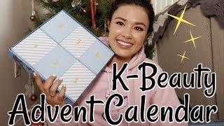 Korean Beauty Advent Calendar ... yes, I'm super late.