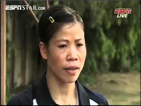 Up close with Mary kom