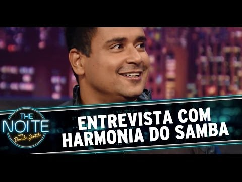 The Noite 30/05/14 (parte 1) - Entrevista Harmonia do Samba