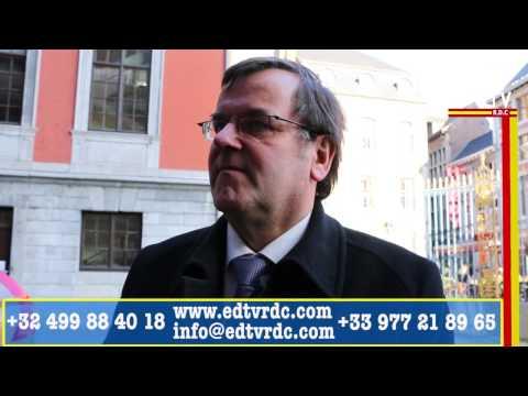 LIÈGE: LA MANIFESTATION DES CONGOLAIS DU 07 MARS 2015