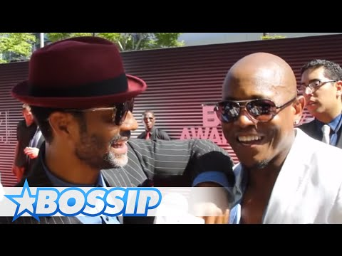 Eric Benet and Calvin Richardson Pay Tribute To Bobby Womack On BET Awards Red Carpet