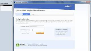 How To Register QuickBooks 2012