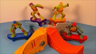 2013 TEENAGE MUTANT NINJA TURTLES SET OF 8 McDONALD'S