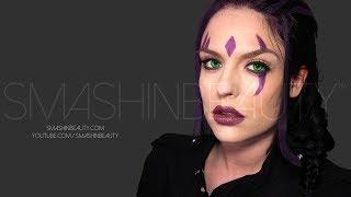 X-men Days Of Future Past BLINK Makeup Tutorial Halloween