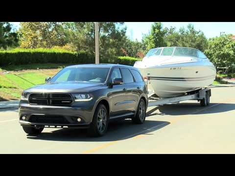 2014 Dodge Durango R/T Towing