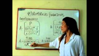 Matemáticas Financieras - Amortización