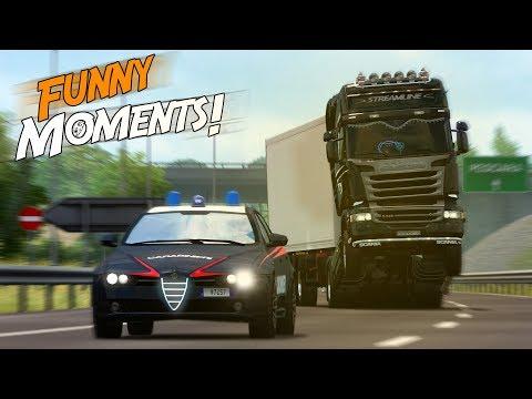 EP.#12 - Funny & Random Moments - Euro Truck Simulator 2