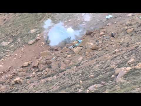Jeremy Foley Crash - Pikes Peak 2012