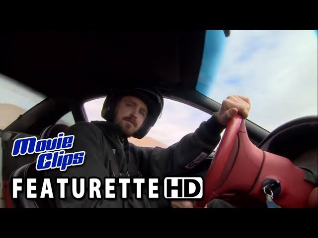 Need For Speed Featurette - Aaron Paul at Driving School (2014) HD