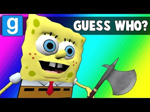 Gmod Guess Who Funny Moments  Krusty Krab is Unstable Garrys Mod