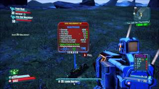 Borderlands 2 #1 (2/2) - Level 35 Party vs. Terramorphous the Invincible