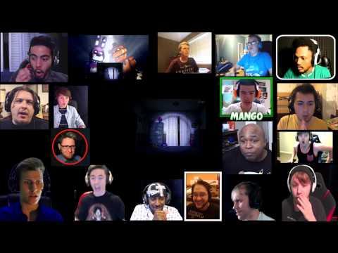 Fnaf 4 Trailer Reaction Mashup