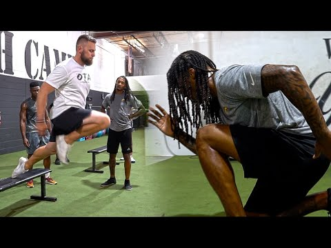 Over Time Athletes:Unilateral Plyometrics Training for Football Athletes