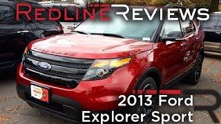2013 Ford Explorer Sport Review, Walkaround, Exhaust, Test