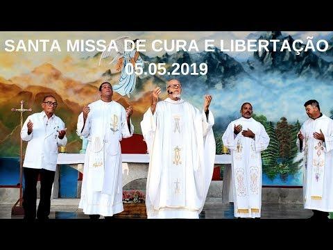 Santa Missa de Cura e Libertação | 05.05.2019 | Padre José Sometti | ANSPAZ