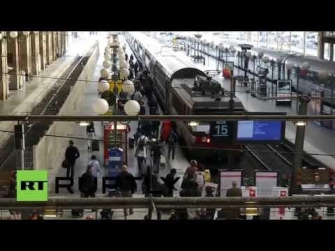 France: Travellers stranded as Metro strikes bite