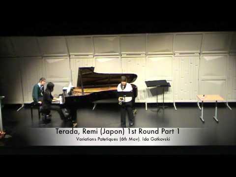 Terada, Remi (Japon) 1st Round Part 1