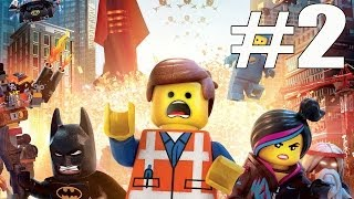 The Lego Movie Videogame Walkthrough Part 2 No Commentary