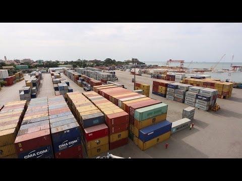 Conakry Terminal: work progresses / Conakry Terminal : Les travaux se poursuivent