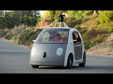 Google self-driving car breaks cover