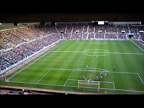 Hull City v Sunderland, Shane Long goal.
