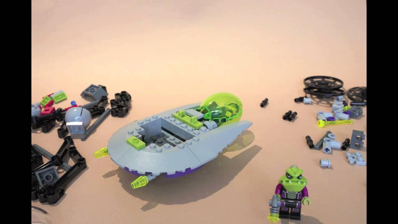 lego alien conquest tripod invader instructions