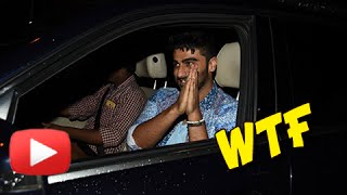 Arjun Kapoor's Driver Fights with the Paparazzi