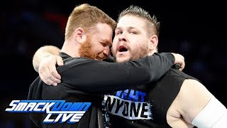 Sami Zayn explains why he helped Kevin Owens at WWE Hell in a Cell: SmackDown LIVE, Oct. 10, 2017