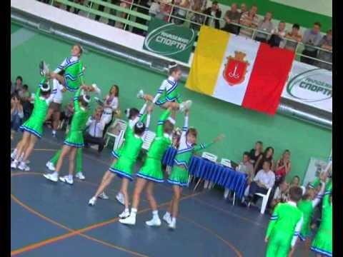 Юбилей Одесской областной федерации черлидинга-2012
