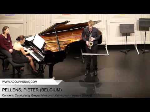 Dinant2014 PELLENS Pieter Concierto Capriccio by Gregori Markovich Kalinkovich Version DINANT