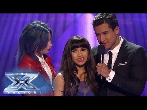 Ellona Santiago is Eliminated From The X Factor - THE X FACTOR USA 2013