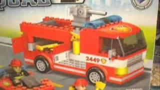 Mega Bloks Blok Squad Fire Patrol, Police Force