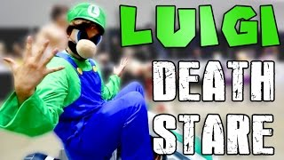 Luigi Death Stare @ Anime Expo 2014
