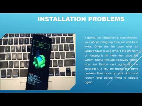 Androidn-Android Marshmallow Problem And Solutions