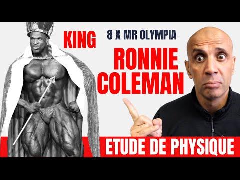 Etude de Physique : 8 X Mr Olympia Ronnie Coleman