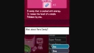 Pokemon Black/White Rare Candy Code
