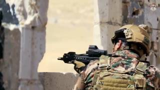 الملك عبدالله الثاني يشارك بتمرين عسكري بالذخيرة الحية  
