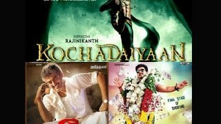 Theatres may not screen Veeram and Jilla! | Kochadaiyaan Audio and Movie Release Date