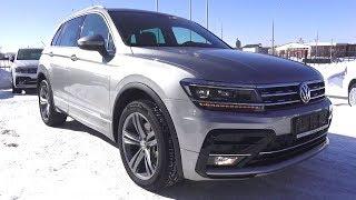 2018 Volkswagen Tiguan 2.0 TSI (180 л.с.) DSG 4Motion Sportline. Обзор.. MegaRetr