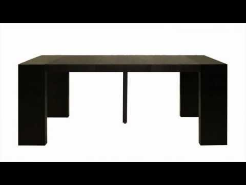 La mesa consola extensible youtube - Mesa consola extensible ...