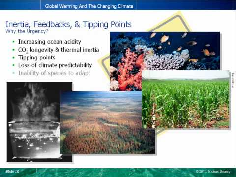 Global Warming 101 (5 of 5) - Inertia, Feedbacks, & Tipping Points