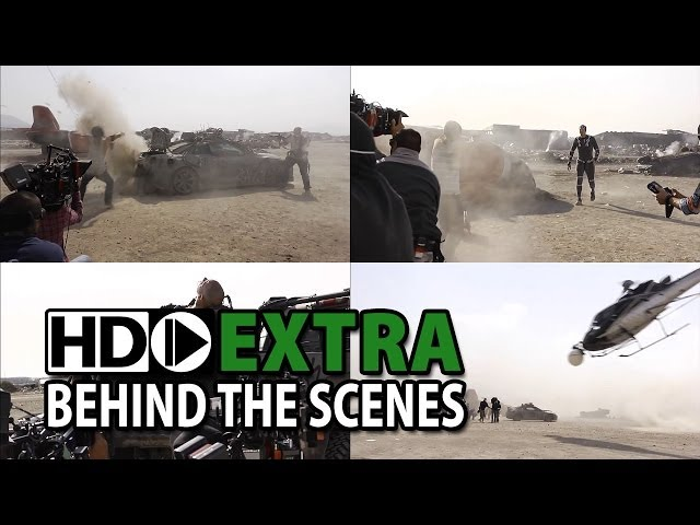 Elysium (2013) Behind the Scenes, Making of & B-Roll - Part2/3