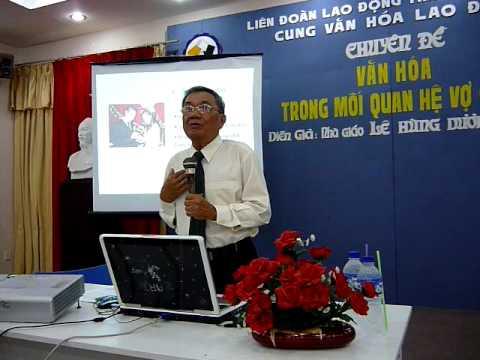 Van hoa trong moi quan he vo chong - Nha giao Le Hung Duong